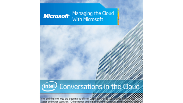 Managing the Cloud with Microsoft – Conversations in the Cloud #10
