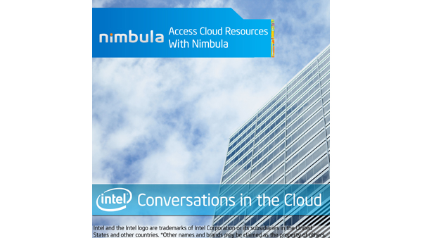 Access Cloud Resources with Nimbula – Intel Conversations in the Cloud #12