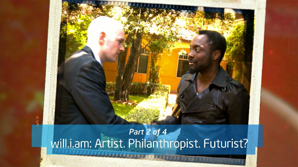 Part 2 of 4: will.i.am: Artist. Philanthropist. Futurist &#8211; will.i.am and Brian David Johnson