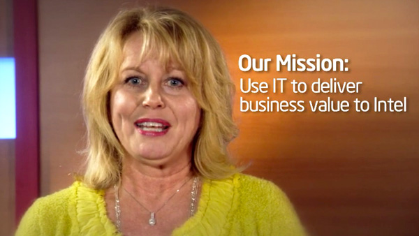 Intel CIO Diane Bryant releases the 2010 Intel IT Performance Report