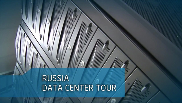 A Tour of Intel IT's Data Center at Russia