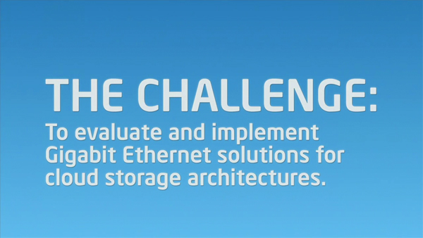 Cloud Storage & Gigabit Ethernet Solutions from NetApp & Intel Cloud Builders